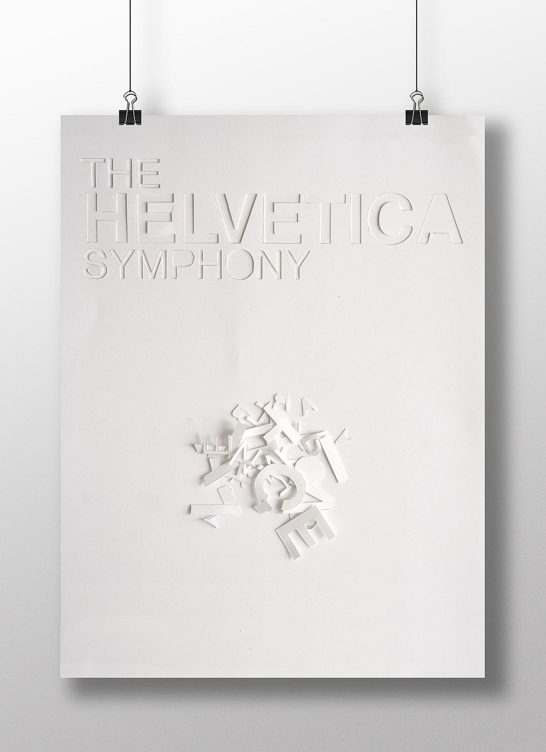 helvetica symphony