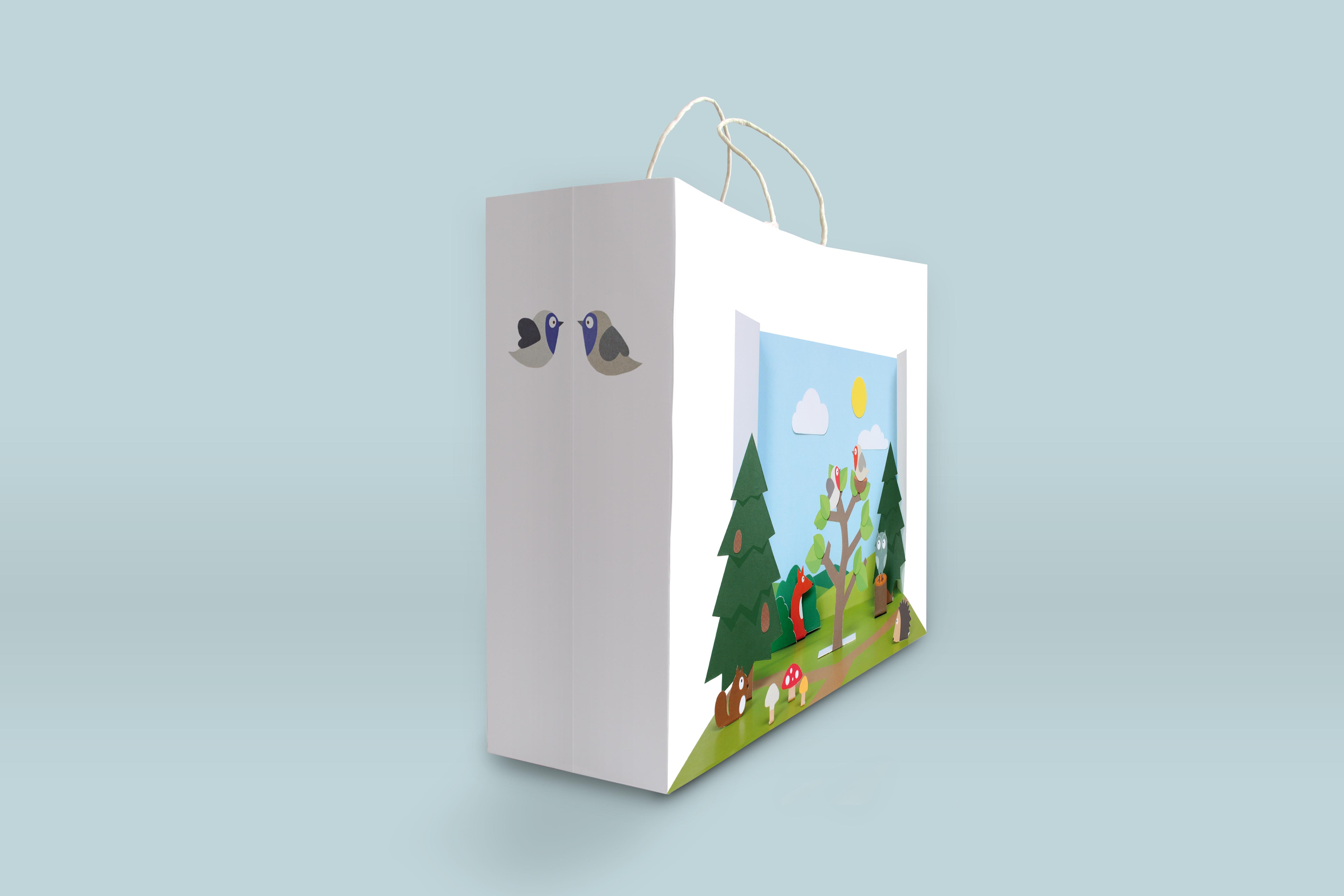 paperbag forest