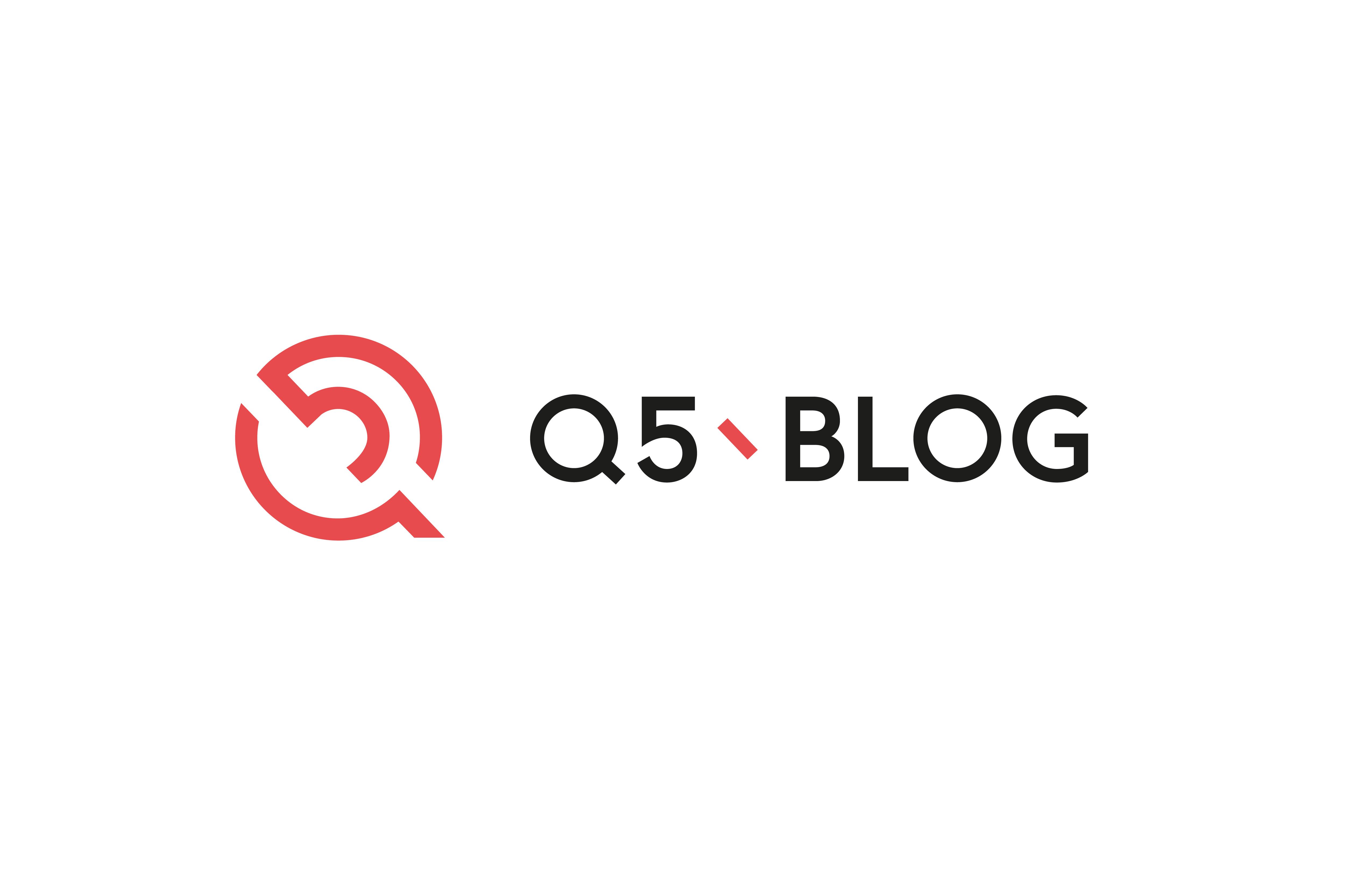 Blog Q5 und Verlag